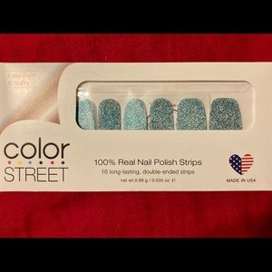 "RETIRED ""Blue Lagoon"" Color Street Nail Strips"